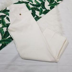 J Crew Patio Pant in Bi-Stretch Cotton
